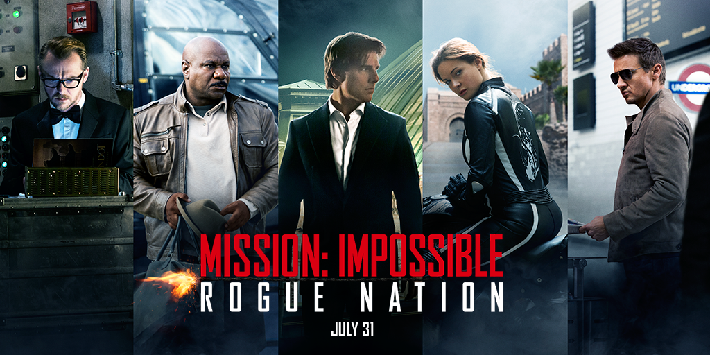 Bildergebnis für mission impossible rogue nation